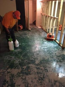 Mold Restoration Of Concrete Flooring