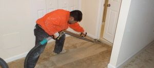 Cleaning Up Carpet After A Sewage Overflow