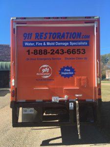 fire-damage-restoration-van