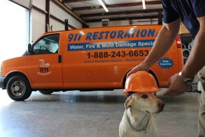 911-restoration-Water Damage Vehicle in Charlotte